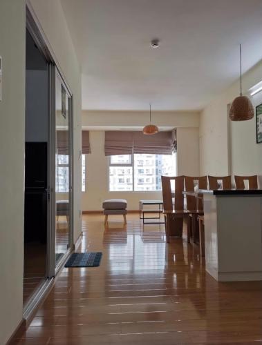 Phòng khách Flora Fuji, Quận 9 Căn hộ Flora Fuji tầng trung, đón view nội khu yên tĩnh.