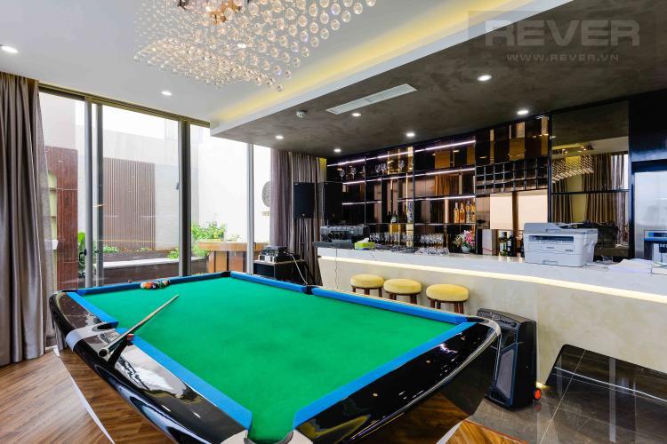 Bếp Bán penthouse Masteri Millennium 3PN, diện tích 222m2, đầy đủ nội thất, view sông và Bitexco