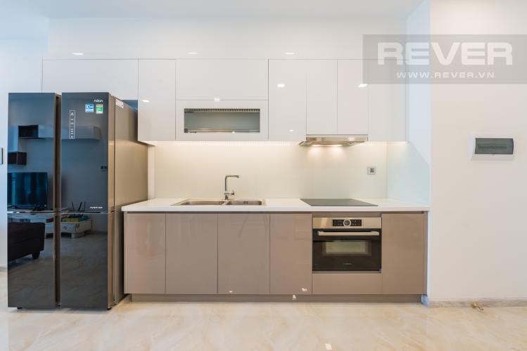 Bếp Căn hộ officetel Vinhomes Golden River tầng cao, đầy đủ nội thất, khu vực đa tiện ích