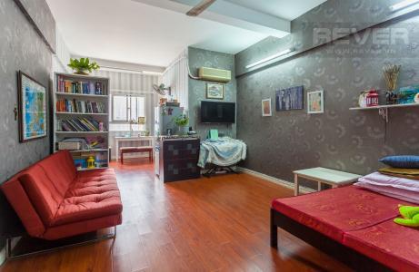 Căn hộ 1 phòng ngủ tầng cao chung cư An Lộc phía sau Metro Quận 2