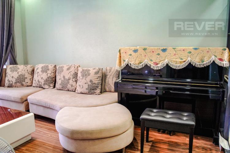 Phòng Khách Bán căn hộ 3PN Lexington Residence, tháp LA, diện tích 111m2, view hồ bơi và đại lộ Mai Chí Thọ