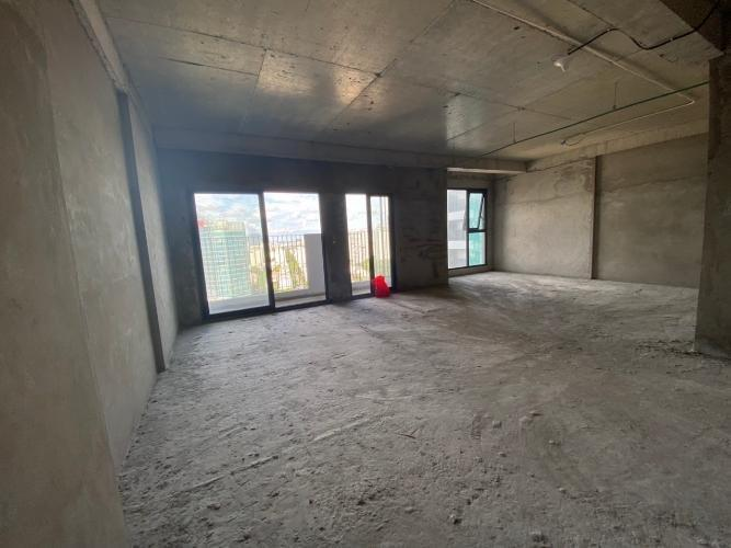 Nhà thô Lavida+ Office-tel Lavida Plus nội thất cơ bản, có thể làm văn phòng.