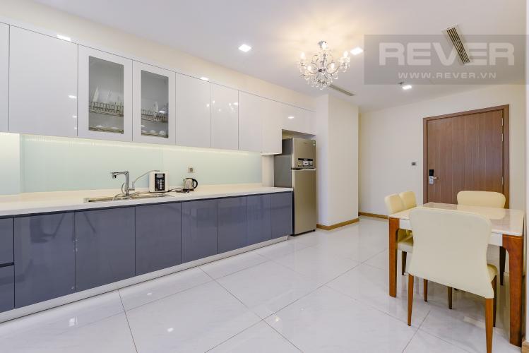 Bếp Căn hộ Vinhomes Central Park 3 phòng ngủ tầng thấp P3 nội thất đầy đủ