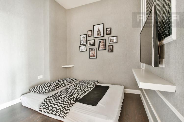 Phòng Ngủ 2 Căn hộ The Tresor 2 phòng ngủ tầng trung TS1 view sông