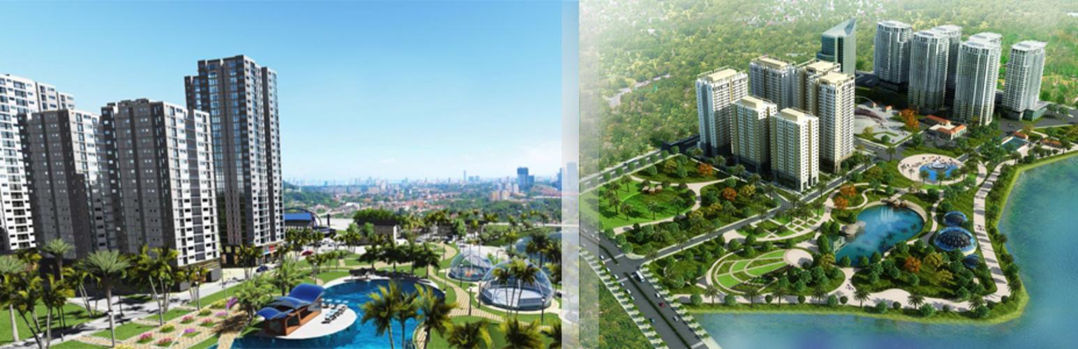 Tổng quan dự án Topaz Elite Căn hộ Topaz Elite ban công hướng Tây Bắc, view thành phố thoáng mát.