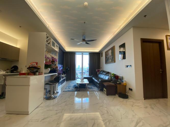 Phòng khách căn hộ Sarica Condominium Căn hộ Sarica Condominium đầy đủ nội thất tiện ích, hướng Nam.