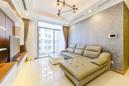 Căn góc Vinhomes Central Park tầng thấp L3, 3 phòng ngủ, đầy đủ nội thất