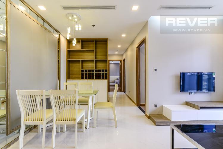 Phòng Ăn Căn hộ Vinhomes Central Park 3 phòng ngủ tầng cao P7 view sông