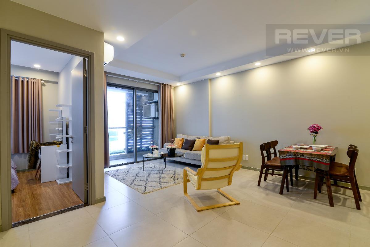 _DSC4716 Bán căn hộ The Gold View 1 phòng ngủ, diện tích 50m2, đầy đủ nội thất, view hồ bơi, hướng Tây Nam