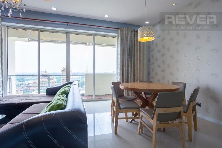 Bàn Ăn Căn hộ The Estella Residence 3 phòng ngủ tầng trung 4A hướng Nam