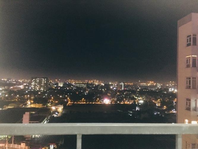 view cảnh căn hộ Him Lam Phú Đông Căn hộ Him Lam Phú Đông, tầng cao, ban công hướng Đông Nam.