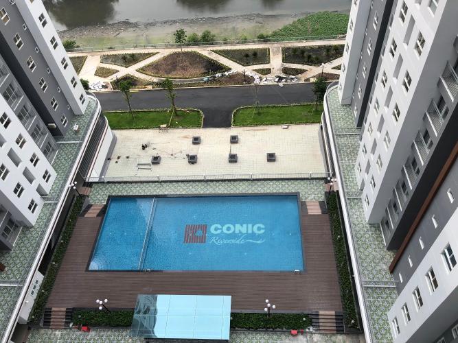 Căn hộ Conic Riverside, Quận 8 Căn hộ Conic Riverside tầng cao view nội khu hồ bơi thoáng mát.