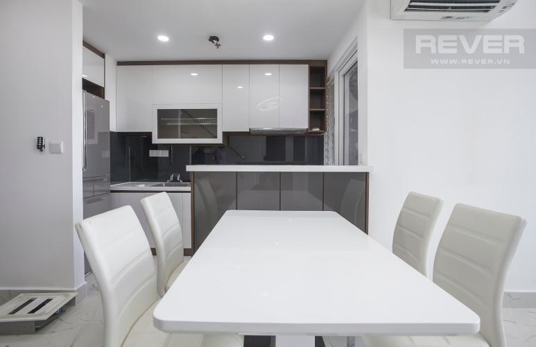 Bàn Ăn Duplex Vista Verde 2 phòng ngủ, tầng thấp, tháp T1, nội thất đầy đủ