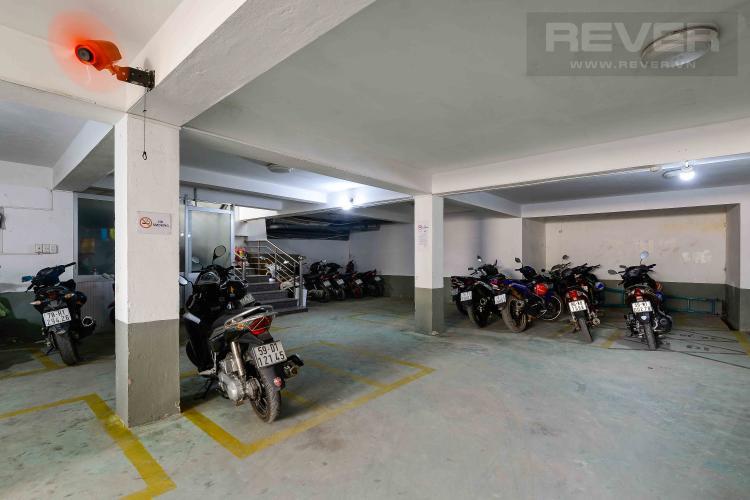 Hầm Gửi Xe Tòa nhà văn phòng cho thuê 1 trệt 3 lầu mặt tiền đường Lương Định Của, Quận 2