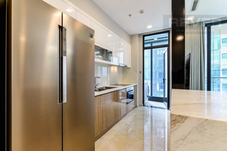 Nhà Bếp Căn hộ Vinhomes Golden River tầng thấp tòa Aqua4 tầng thấp 3 phòng ngủ view sông
