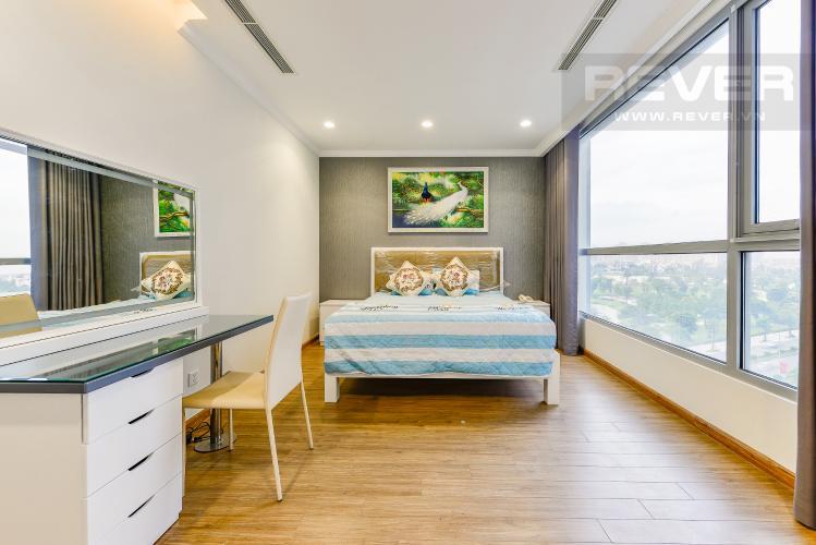 Phòng ngủ 3 Căn góc Vinhomes Central Park 4 phòng ngủ tầng thấp Landmark 1