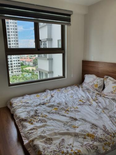 Phòng ngủ Saigon South Residence  Căn hộ Saigon South Residence tầng trung, đón view nội khu.