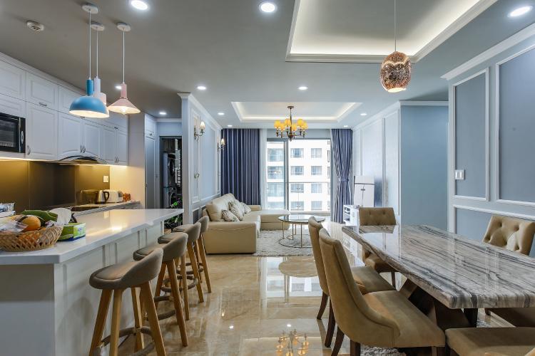 Căn hộ The Gold View 3 phòng ngủ tầng cao A3 nội thất đầy đủ