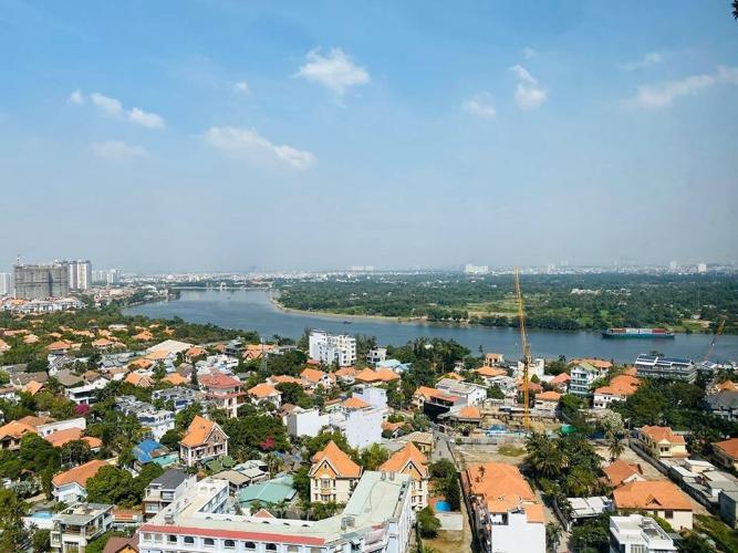 View căn hộ MASTERI THẢO ĐIỀN Cho thuê căn hộ Masteri Thảo Điền 2PN, diện tích 70m2, đầy đủ nội thất, view sông thoáng mát