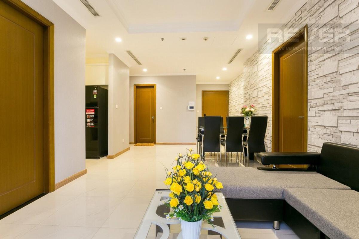 e276f2337c6e9a30c37f Cho thuê căn hộ Vinhomes Central Park 3PN, tháp Landmark 2, đầy đủ nội thất, hướng Tây Nam