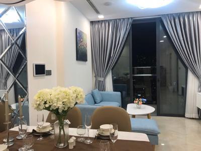 Cho thuê căn hộ Vinhomes Golden River tầng 6, đầy đủ nội thất sang trọng, view thành phố