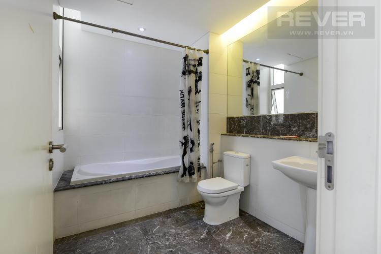Toilet 2 Căn hộ The Estella Residence tầng cao, 3PN, nội thất đầy đủ, view hồ bơi