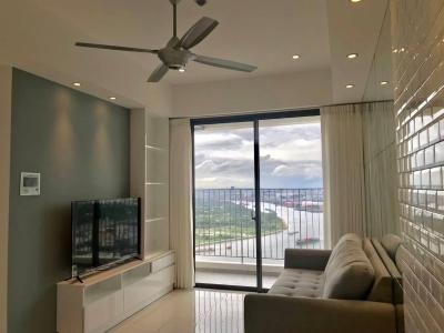 Cho thuê căn hộ Masteri An Phú 2PN, tháp A, đầy đủ nội thất, view sông Sài Gòn