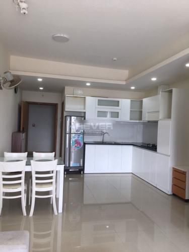 Phòng bếp căn hộ Jamona City, Quận 7 Căn hộ Jamona City nội thất cơ bản, view nội khu vô cùng thoáng mát.