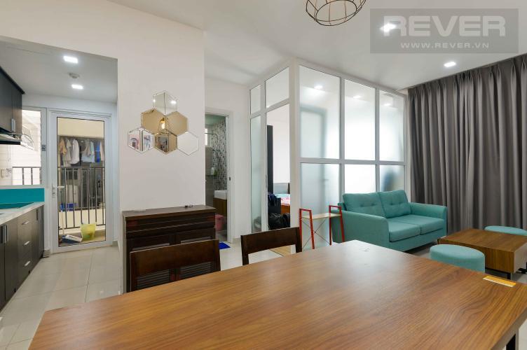 Phòng Khách Bán căn hộ Vista Verde 1PN tầng cao, đầy đủ nội thất cao cấp, hướng Đông Nam mát mẻ