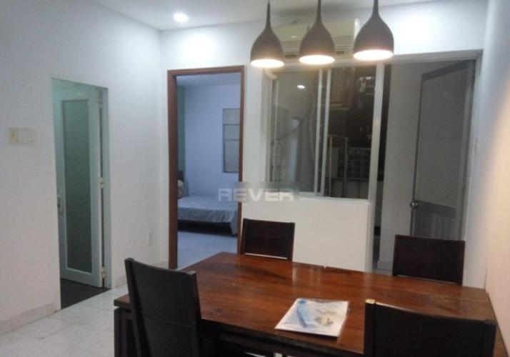 Phòng ăn chung cư Vạn Đô Quận 4 Căn hộ chung cư Vạn Đô tầng thấp, đầy đủ nội thất.