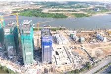 Cập nhật tiến độ thi công mới nhất dự án Vinhomes Golden River