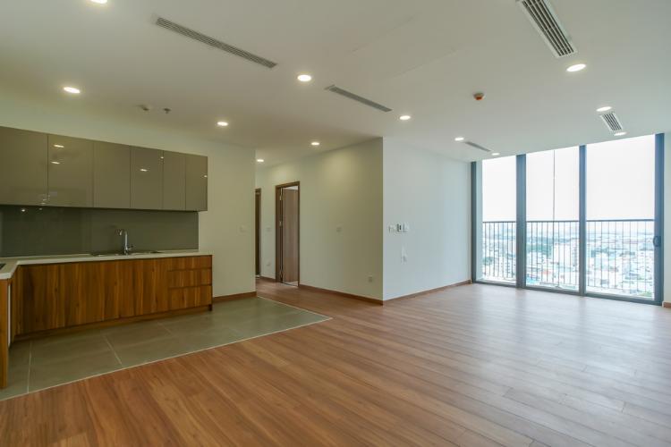 Căn hộ Eco Green Saigon tầng trung đón gió, nội thất cơ bản.