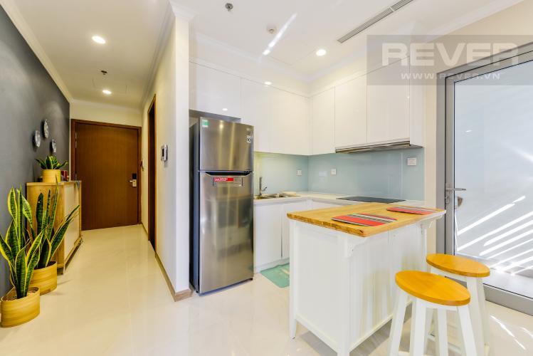 Bếp Căn hộ Vinhomes Central Park tầng cao 2PN thiết kế đẹp, nội thất đầy đủ