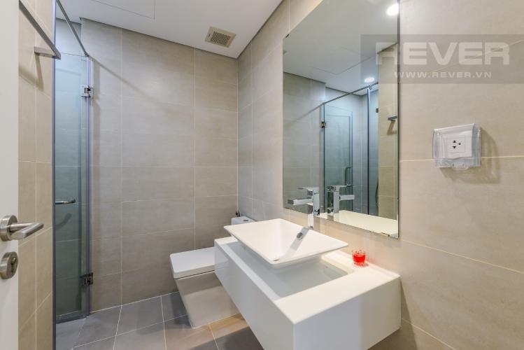 Phòng tắm 1 Cho thuê căn hộ Masteri Millennium tầng cao 2PN đầy đủ nội thất