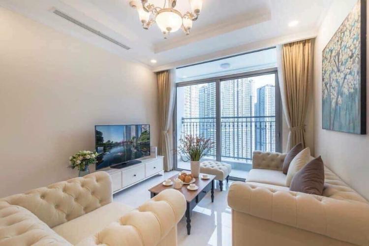 Cho thuê căn hộ Vinhomes Central Park 1PN, tháp Landmark Plus, diện tích 54m2, đầy đủ nội thất