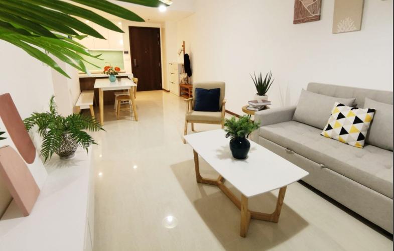 Căn hộ One Verandah tầng trung, đầy đủ nội thất, view sông lãng mạn.