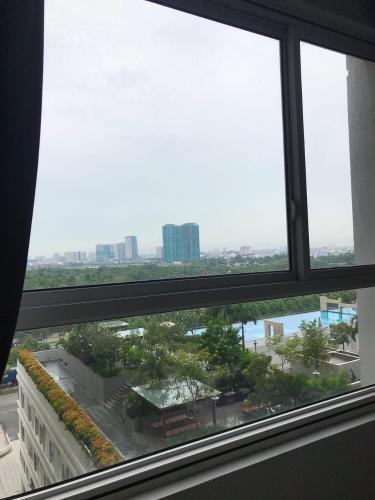 view căn hộ LEXINGTON RESIDENCE Bán căn hộ Lexington Residence 1PN, tầng 9, đầy đủ nội thất, ban công Đông Nam