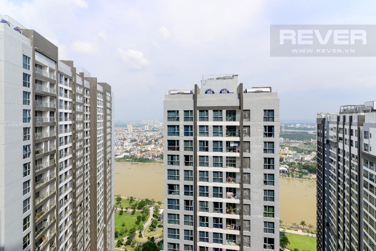 _DSC3965 Bán căn hộ Vinhomes Central Park 1PN, tháp Park 7, đầy đủ nội thất, view hồ bơi và mé sông
