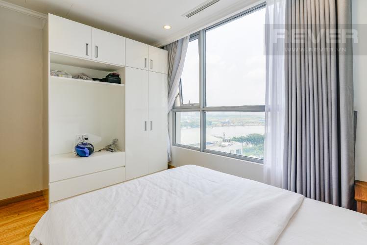 Phòng Ngủ 3 Căn hộ Vinhomes Central Park 4 phòng ngủ tầng trung C2 hướng Đông Nam