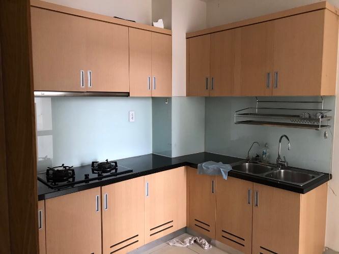 Phòng bếp Him Lam Riverside Căn hộ Him Lam Riverside nội thất đầy đủ, view thành phố.