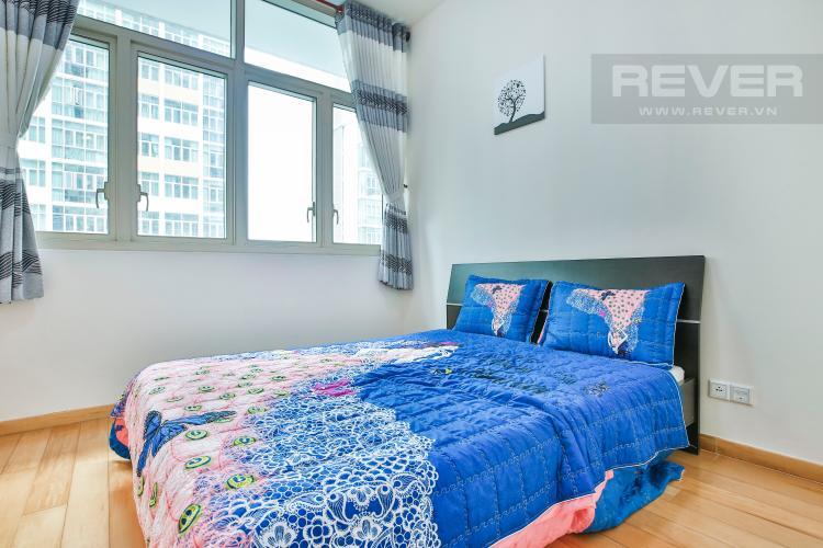 Phòng Ngủ 2 Căn hộ The Vista 2 phòng ngủ tầng cao tòa T4 view hồ bơi