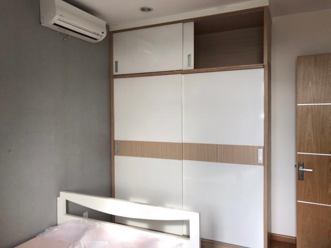 Phòng ngủ Him Lam Riverside Căn hộ Him Lam Riverside nội thất đầy đủ, view thành phố.