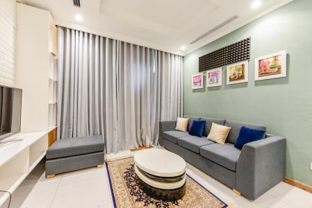 Cho thuê căn hộ Vinhomes Central Park tầng thấp 2PN đầy đủ nội thất