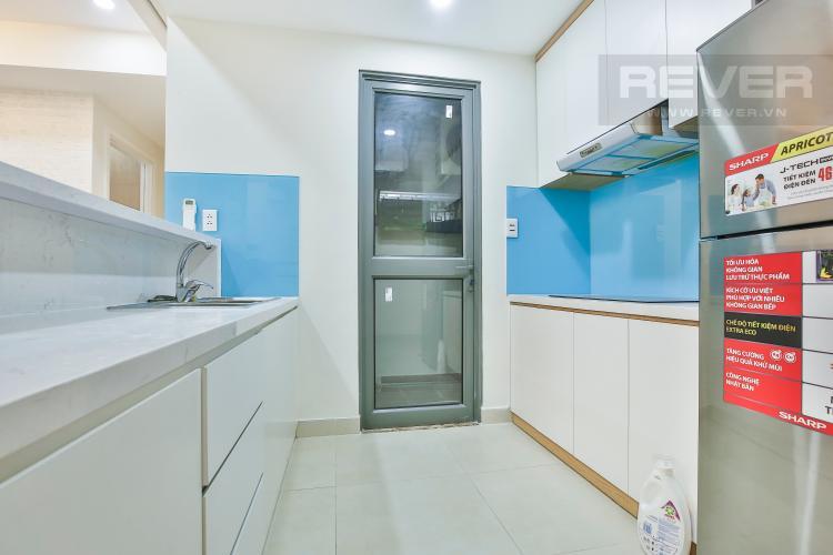 Bếp Căn góc Masteri Thảo Điền 2 phòng ngủ tầng trung tòa T2