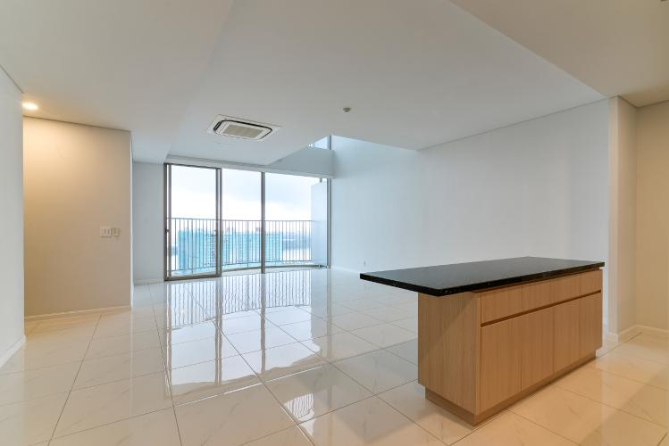 Cho thuê căn hộ duplex Waterina Suites 3PN, diện tích 235m2, nội thất cơ bản, view sông và Landmark 81