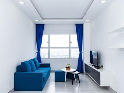 Cho thuê căn hộ Sunrise City 2PN, tháp X2 khu North, diện tích 77m2, đầy đủ nội thất