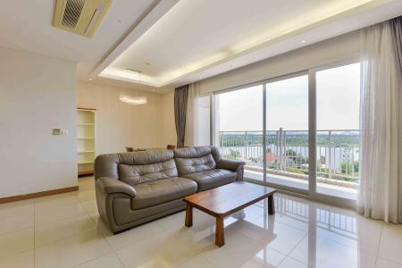 Cho thuê căn hộ Xi Riverview Palace tầng trung 3 phòng ngủ, đầy đủ nội thất, view sông mát mẻ