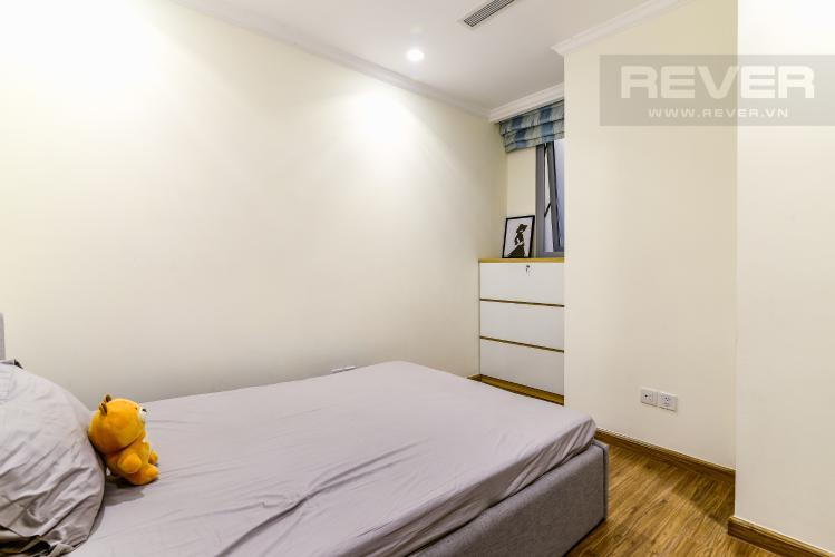 Phòng Ngủ 2 Căn hộ Vinhomes Central Park 2 phòng ngủ tầng cao L2 hướng Tây Nam