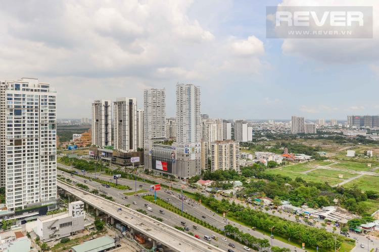 View Cho thuê căn hộ Masteri Thảo Điền 2PN, tầng cao, tháp T4, đầy đủ nội thất, view Xa lộ Hà Nội