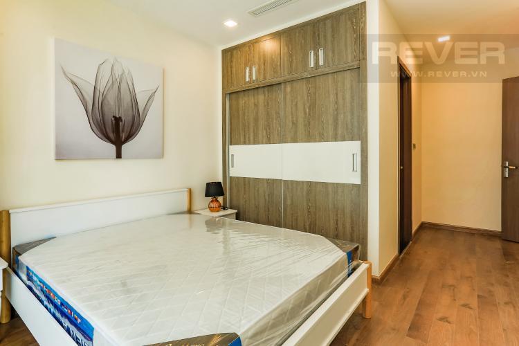 Phòng Ngủ 1 Căn hộ Vinhomes Central Park 2 phòng ngủ tầng cao P5 view sông